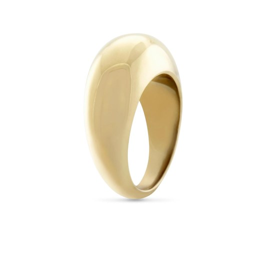 Monarc Jewellery Courbure Ring Gold Vermeil