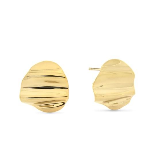 Monarc Jewellery L'Eau Earrings. Gold Vermeil