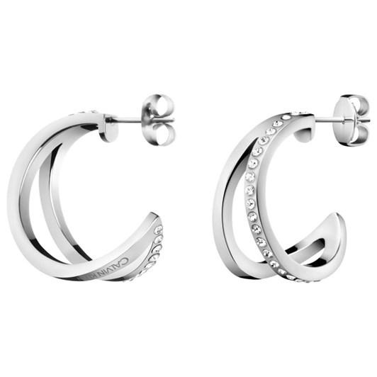 CALVIN KLEIN Outline Earrings