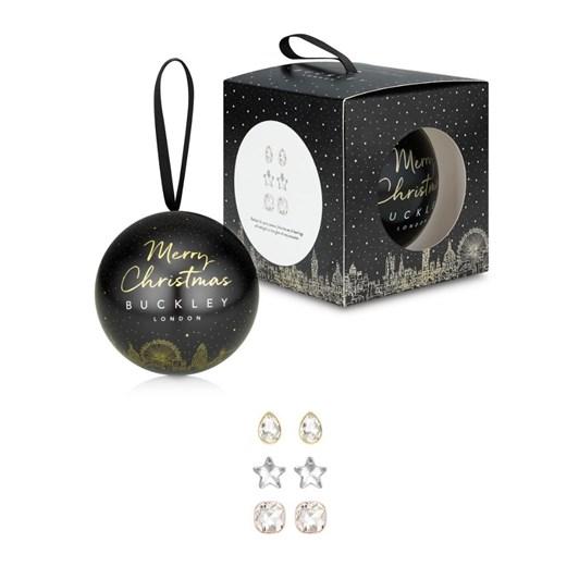 Buckley London Christmas Bauble - Sparkle Earring Trio