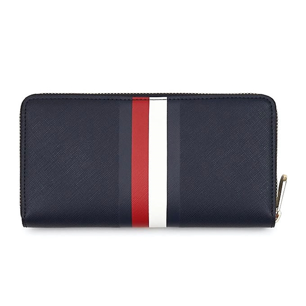 Tommy Hilfiger Large Signature Tape Wallet - 0g7 corporate