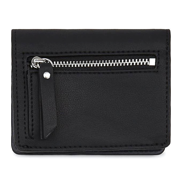 Tommy Hilfiger Item Statement Medium Metal Logo Wallet - 0j7 black mix