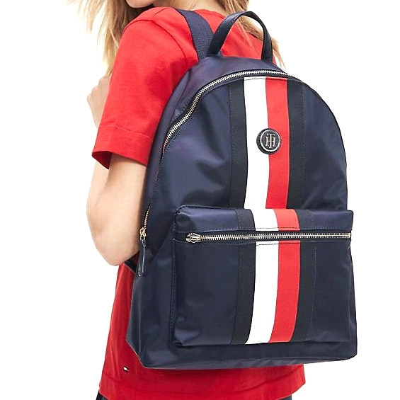 Tommy Hilfiger Signature Backpack - 0g7 corporate
