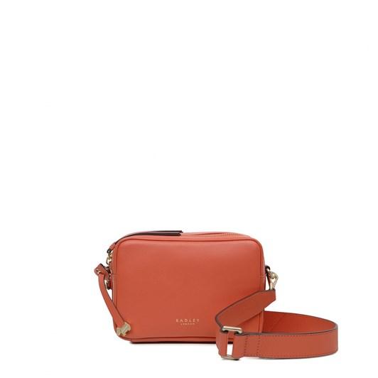 Radley Alba Place Small Zip Around Crossbody Leather Handbag