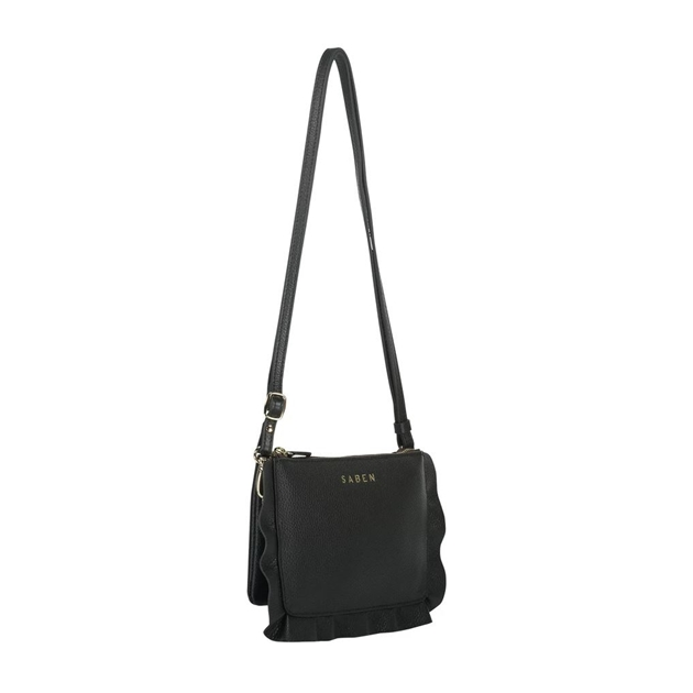 Saben Frilly Tilly Leather Bag - black