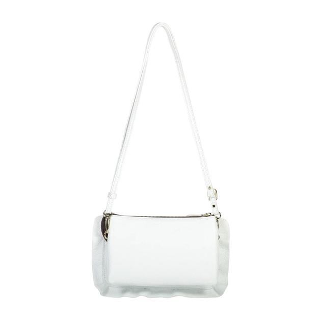 Saben Frilly Tilly Leather Bag - white