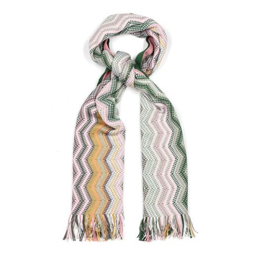 Missoni Lurex Crochet Knit Scarf