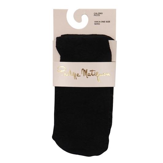 Philippe Matignon Floral Sheer Socks