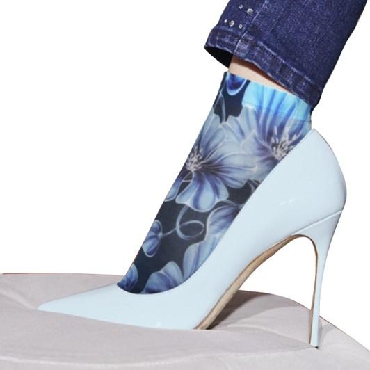 Philippe Matignon Floral Screen Print Socks