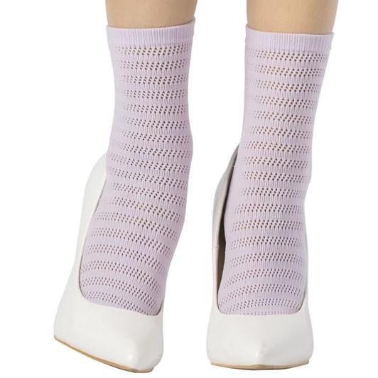 Emilio Cavallini Striped Crochet Socks