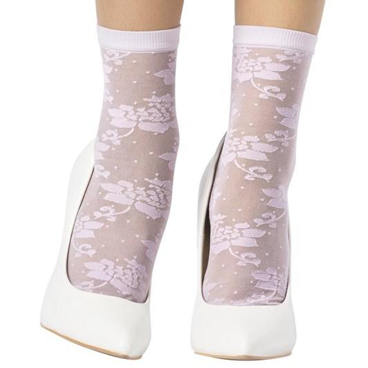 Emilio Cavallini Lotus Flower Socks