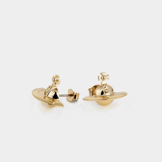 Vivienne Westwood Solid Orb Earrings Gold (925)