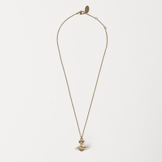 Vivienne Westwood Pina Small Orb Pendant Gold Crystal