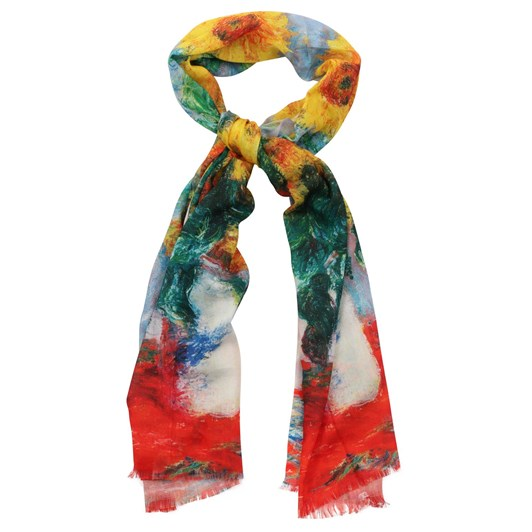 Gift Zone Digital Print Cotton Scarf