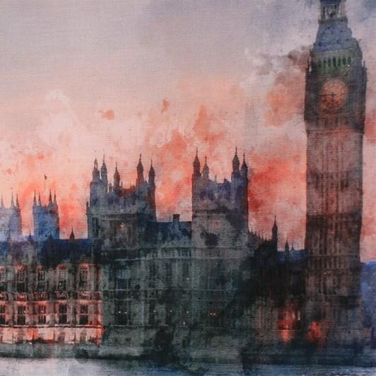 Dlux London Scene Modal Cashmere Scarf