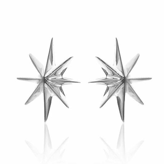 Silk & Steel North Star Earrings