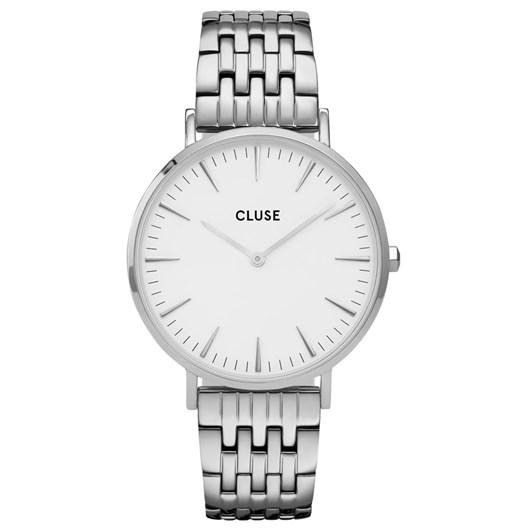 Cluse Boho Chic Multi-Link Silver White/Silver