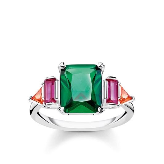 Thomas Sabo Ring Colourful Stones - Silver