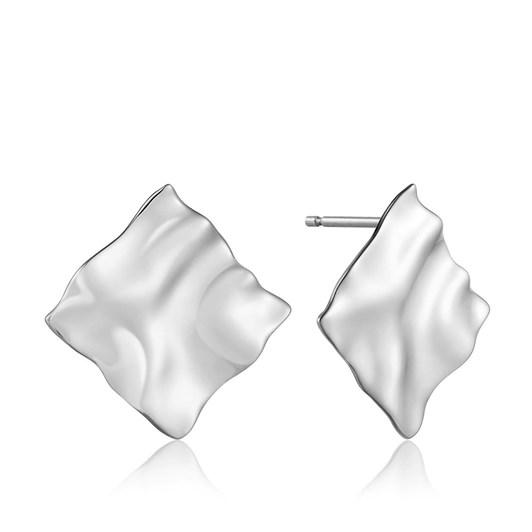 Ania Haie Metal Crush Square Stud Earrings