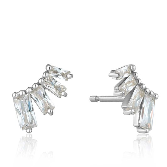 Ania Haie Glow Getter Bar Stud Earrings
