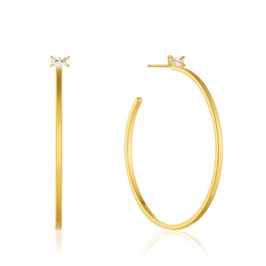 Ania Haie Glow Getter Hoop Earrings