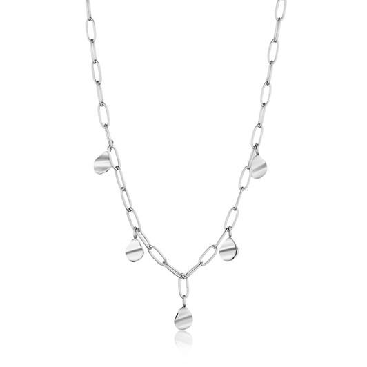 Ania Haie Metal Crush Drop Discs Necklace