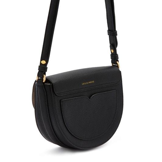 Lulu Guinness Med Cut Out Lip Esme Saddle Bag