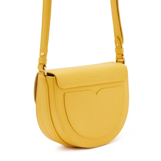 Lulu Guinness Med Cut Out Lip Esme Saddle Bag