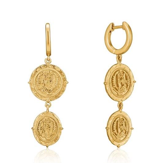 Ania Haie Gold Digger Axum Mini Hoop Earrings
