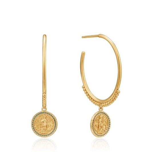 Ania Haie Gold Digger Emperor Hoop Earrings