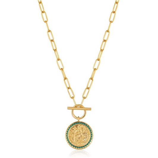 Ania Haie Gold Digger Emperor T-Bar Necklace