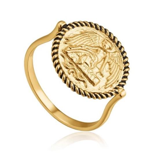 Ania Haie Gold Digger Winged Goddess Ring