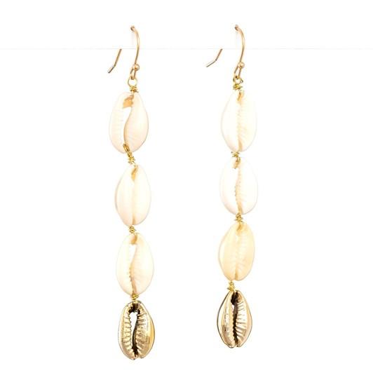 Stella & Gemma Earring Multi Seashells