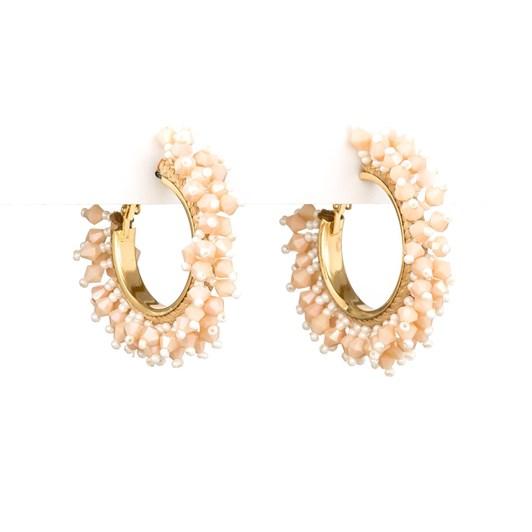 Stella & Gemma Earring Boho Bead Hoop