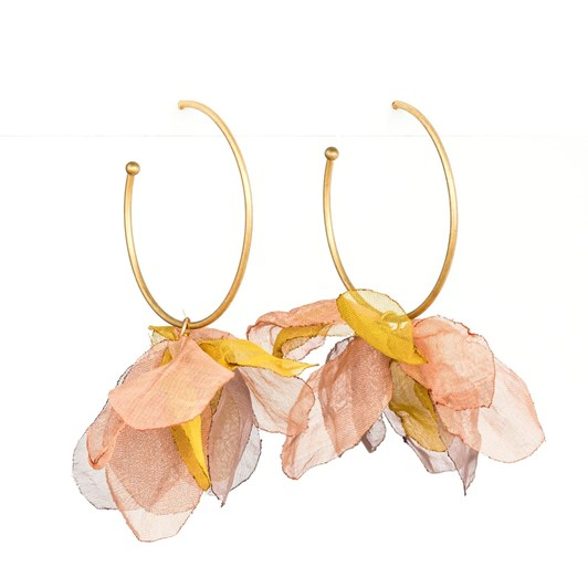 Stella & Gemma Earring Hoop Organza