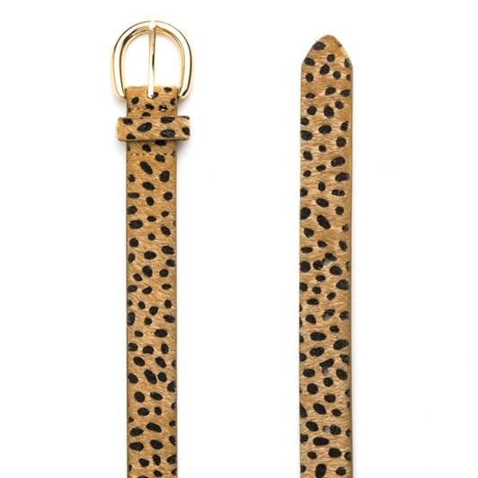 Stella & Gemma Belt Cheetah Fur