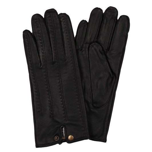 Ashwood Stitch Detail Leather Gloves