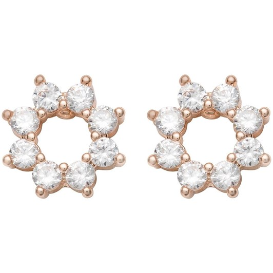 Gregory Ladner Mini CZ Circle Stud