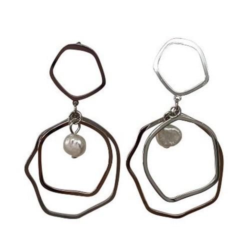 Gregory Ladner Multi-Hoop Drop Earrings
