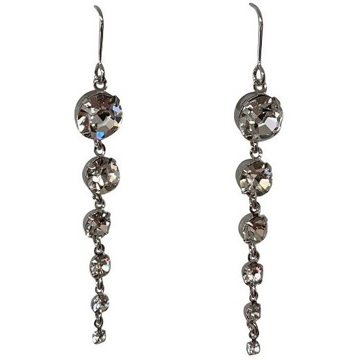 Gregory Ladner Multi Crystal Drop Earrings