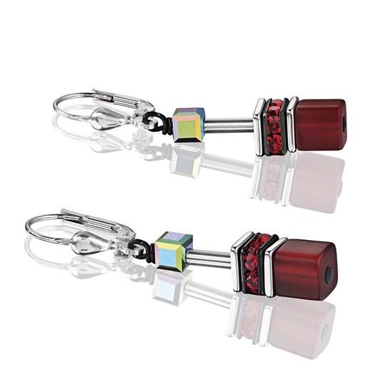 Coeur De Lion Geo-Cube Earrings