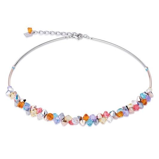 Coeur De Lion Acrylic Glass & Swarovski Crystals Necklace