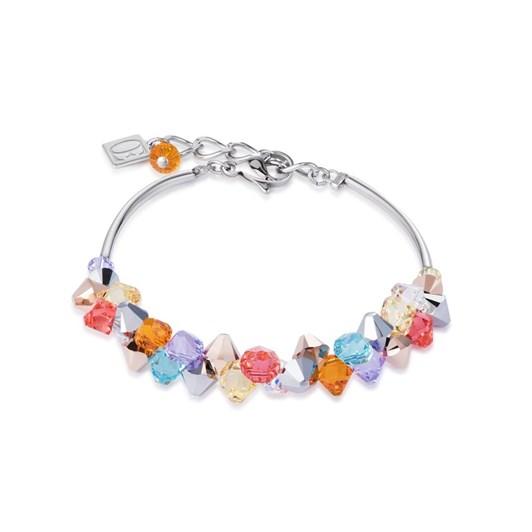 Coeur De Lion Acrylic Glass & Swarovski Crystals Bracelet