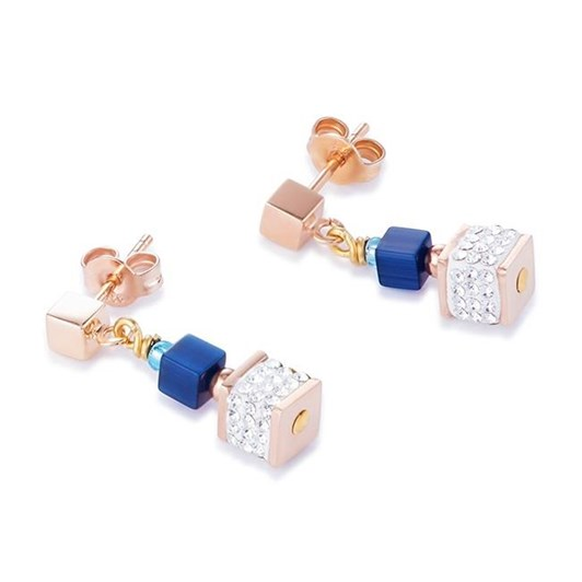 Coeur De Lion Geo-Cube Earrings