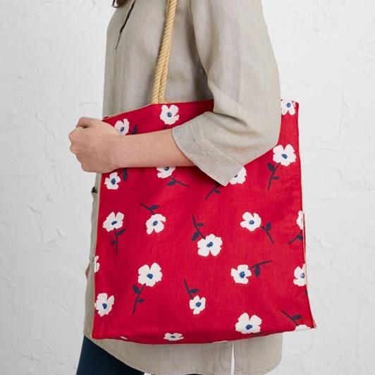 Seasalt Kitchen Garden Bag Wild Mallow Rudder