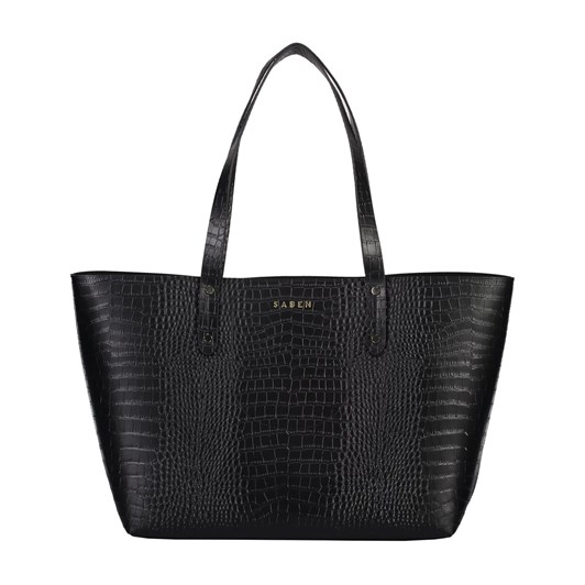 Saben Kelly Leather Handbag