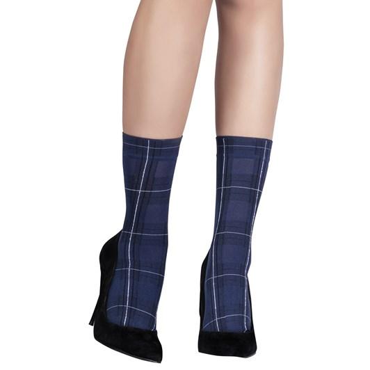 Emilio Cavallini Modern Tartan Socks