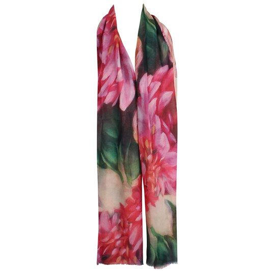 Alice & Lily Bright Floral Print Scarf