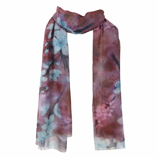 Alice & Lily Floral Print Scarf