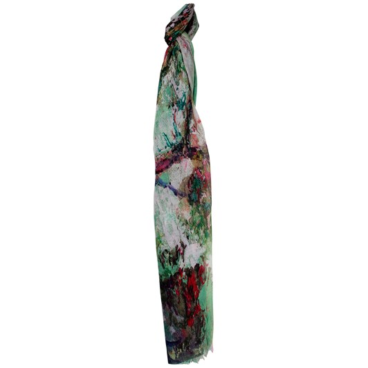 Alice & Lily Water Colour Print Scarf